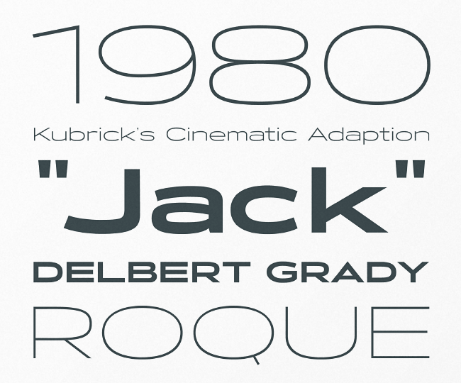 atc timberline The most beautiful typefaces from June 2014