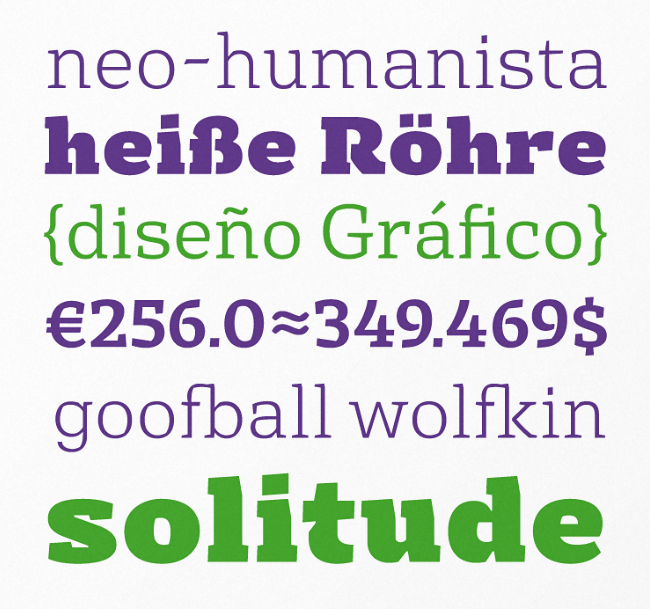 basil The most beautiful typefaces from June 2014