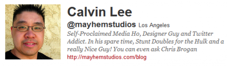 calvin 730x214 7 key ingredients for a powerful Twitter bio