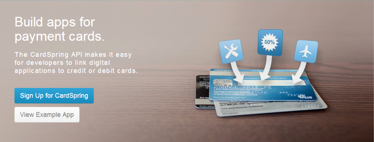 cardspring splash Twitter snaps up CardSpring, a platform for helping developers connect apps with consumers credit cards