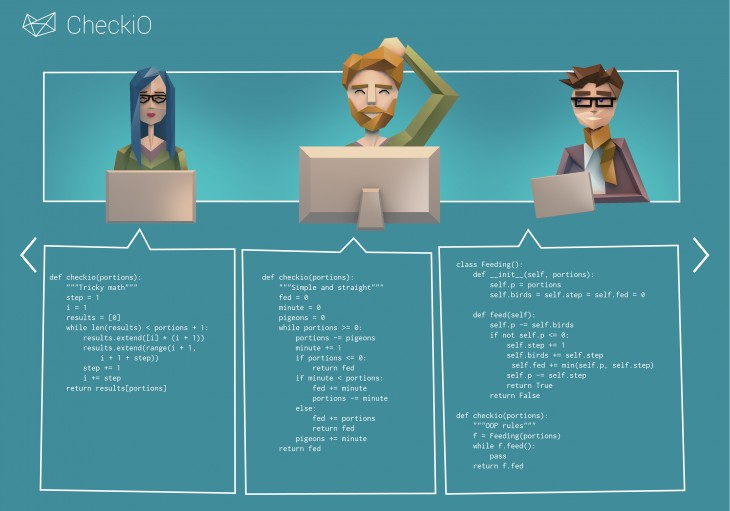 checkio2 730x511 CheckiO launches a crowdsourced coding game platform for Python developers