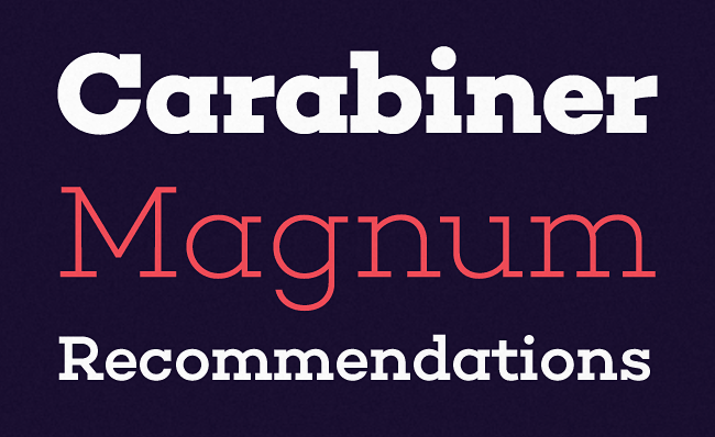 choplin The most beautiful typefaces from June 2014