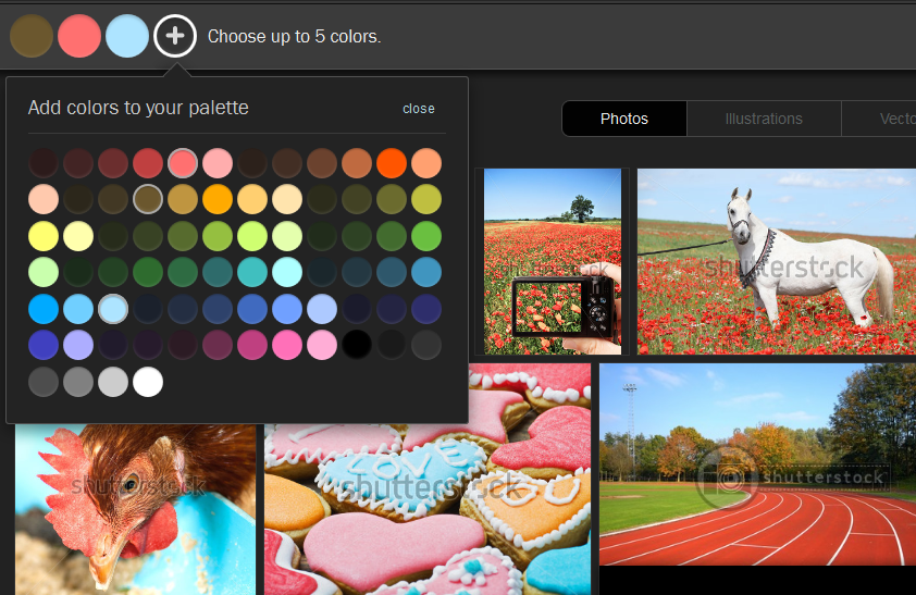 Shutterstock Helps You Search Photos by Color