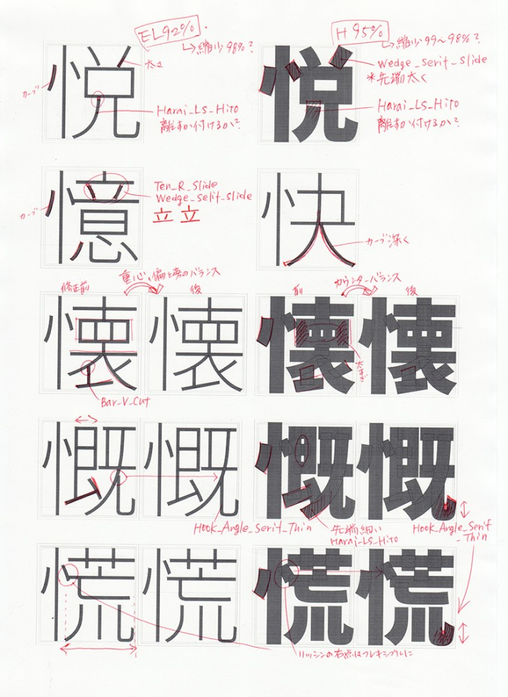 directions 730x1001 Adobe and Google debut open source typeface family spanning Chinese, Japanese and Korean to serve one quarter of the worlds population