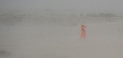 INDIA-WEATHER-DUST STORM
