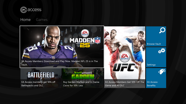 eaaccess EA's game subscription service for Xbox One emerges from beta