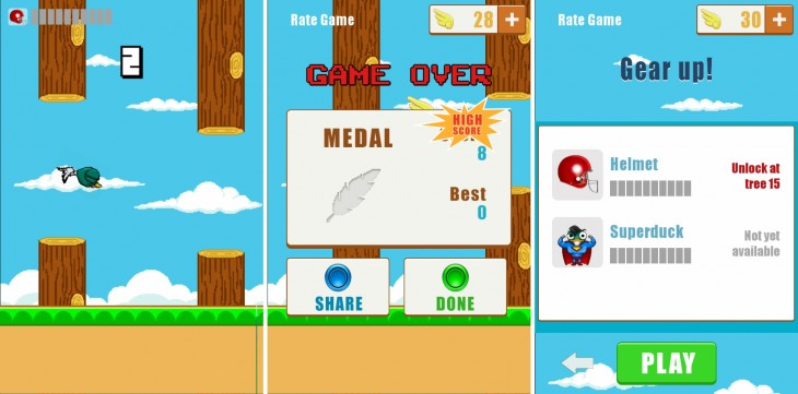 flappy tango 730x361 Tango launches a $25m fund for mobile games as it looks to win the US chat app race