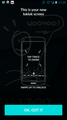 g 220x391 LokLok for Android lets you send doodles, photos and messages directly from your lockscreen