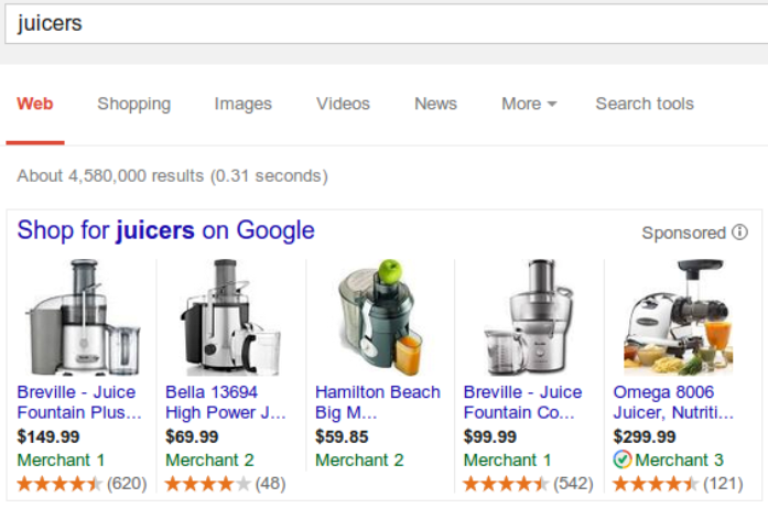 gadz Google Shopping now features product ratings in ads, blurring the lines between organic and paid search