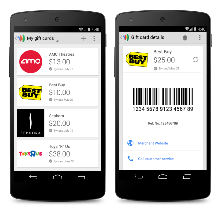 giftcombinednexus Google Wallet gets gift cards, requesting money, sending it from your debit card for free, and Spanish support