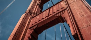 golden gate close up california