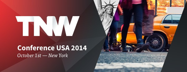 TNW Conference USA: Back in New York on October 1