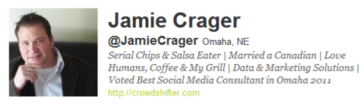 jamie 730x205 7 key ingredients for a powerful Twitter bio
