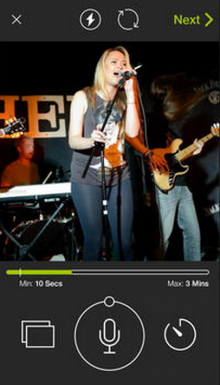 next app 3 220x385 Tinder co founder's Next iPhone app has you swiping to discover new indie musicians