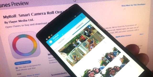 Flayvr Becomes MyRoll, an Intelligent Mobile Gallery App