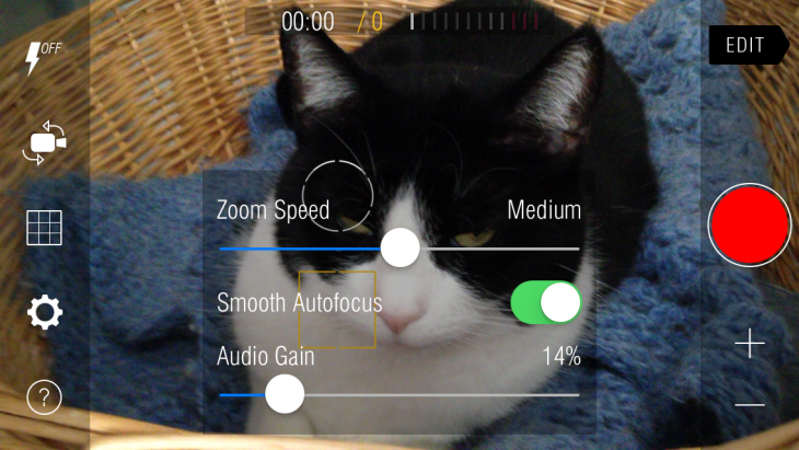 photo 730x411 Kinomatic for iPhone offers pro level video features without the complexity