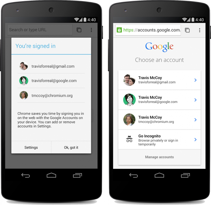 Chrome Beta for Android Updated with Material Design Tweaks