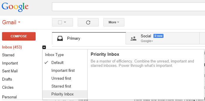 priority inbox setup 3 Gmail tricks that can save you hours every week