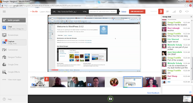 run a google hangout How to run a Google+ Hangouts series