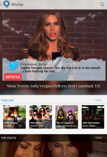 s 220x321 WhoSays social publishing tool for celebrities now has an Android app for fans
