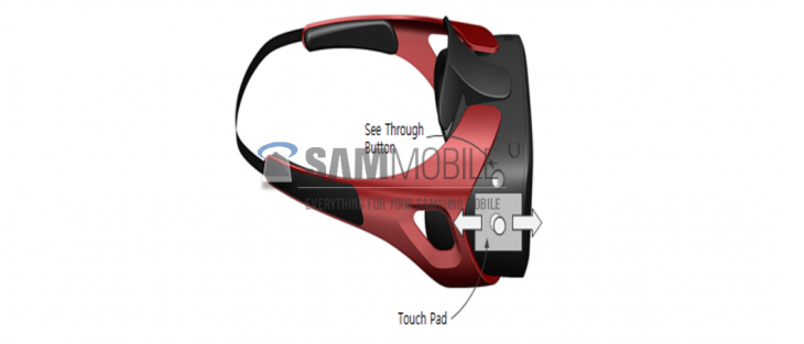 samsung gearvr leak 730x313 Leaked render reportedly outs Samsung's Oculus powered Gear VR headset