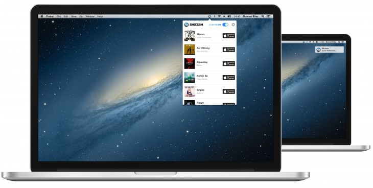 shazam 730x368 Shazams seamless music recognition service lands on the Mac
