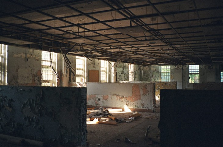 static.squarespace 31 730x483 Film vs. digital: Exploring the balance in an abandoned asylum