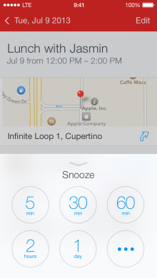 unknown 220x390 Fantastical for iOS now lets you snooze calendar reminders