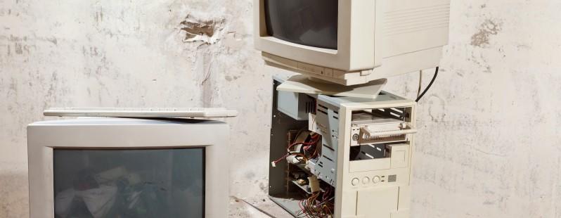 vintage old computers