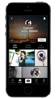 03 iphone profile 220x390 EyeEm revamps its iOS app to put photos first, with a clever EyeZoom feature