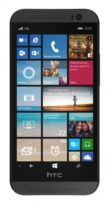0801 htc 220x411 Verizon leaks HTC One M8 with Windows Phone ahead of official announcement