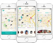 0805 lyftline 220x181 Lyft launches carpooling with strangers service, Lyft Line