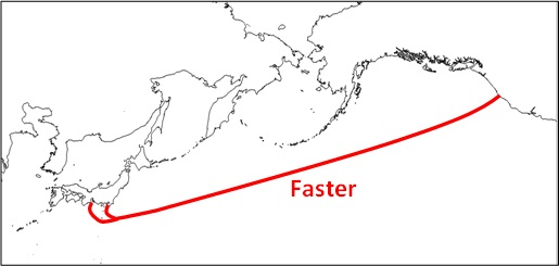 1101 01 Google is backing a new $300 million high speed internet Trans Pacific cable system between the US and Japan