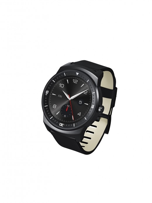 4 520x693 LGs new G Watch R is a stylish looking smartwatch with a 1.3 inch circular screen