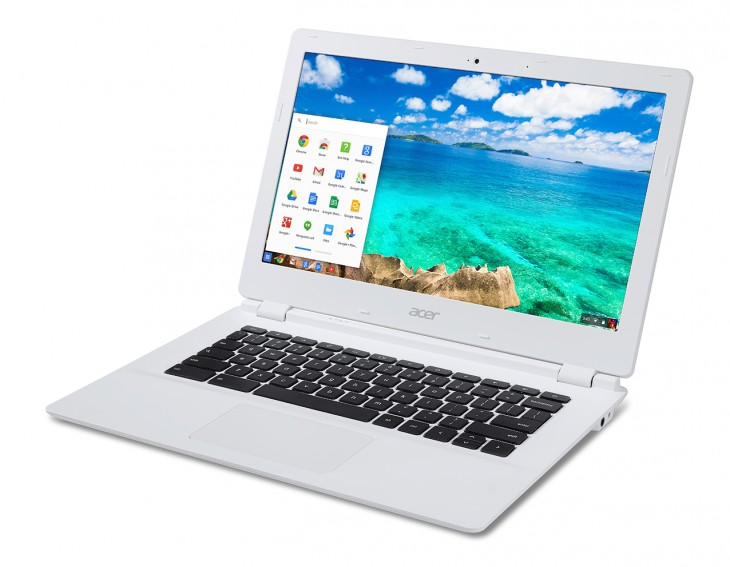 Acer Chromebook 13 CB5 311 AcerWP app 03 730x567 Acers $279 Chromebook promises 13 hours of battery life thanks to Nvidias Tegra K1 processor