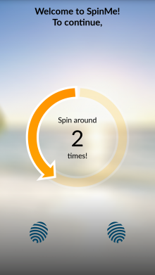 C 220x391 SpinMe for Android is an alarm clock that only deactivates when you spin around