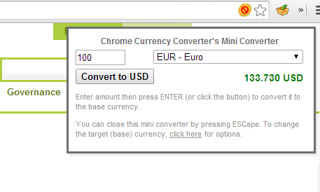 CurrencyConverter3 27 of the best Chrome extensions you should check out today