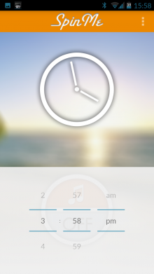 D 220x391 SpinMe for Android is an alarm clock that only deactivates when you spin around