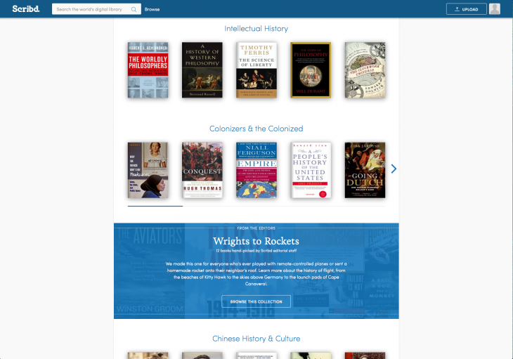 DiveDeeper 730x511 Scribd overhauls its ebook subscription service to help you find interesting reads