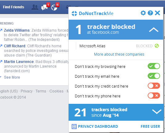 DoNotTrackMe 27 of the best Chrome extensions you should check out today