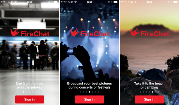 FireChat app iPhone How to find your friends at this years Burning Man festival