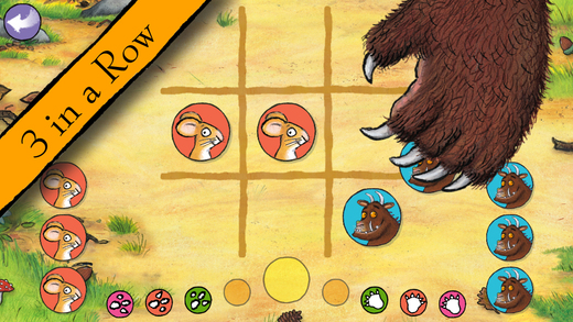 The Gruffalo takes his purple prickles to iOS with six puzzle games