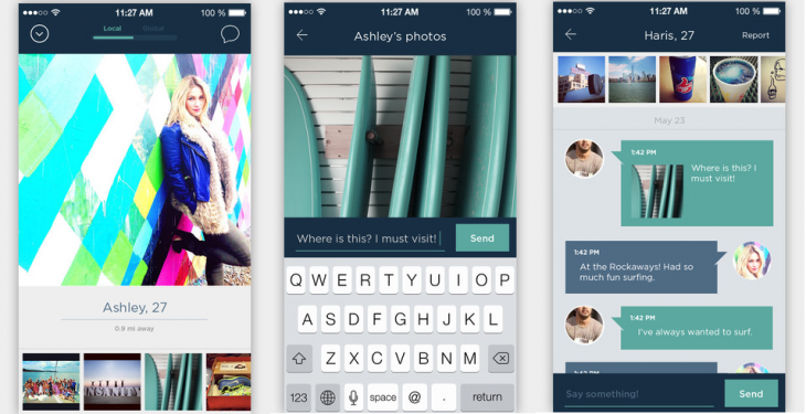 Glimpse 730x375 Glimpse completely overhauls its iOS app to help you meet more relevant people on Instagram