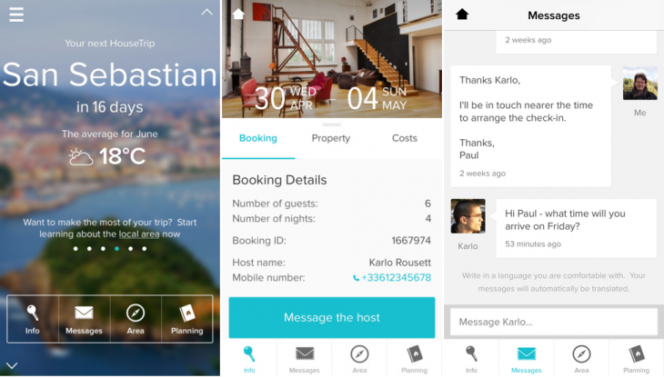 HouseTrip 730x416 Holiday rental service HouseTrip launches an iOS app for guests, complete with group itineraries
