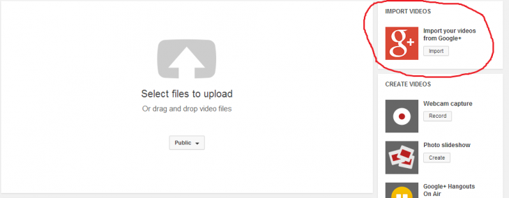 New 730x284 YouTube will soon give you the option to import your Google+ videos