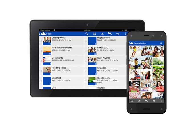 OneDrive Amazon App Store Microsoft releases OneDrive for Amazon Fire phone and Kindle Fire tablets