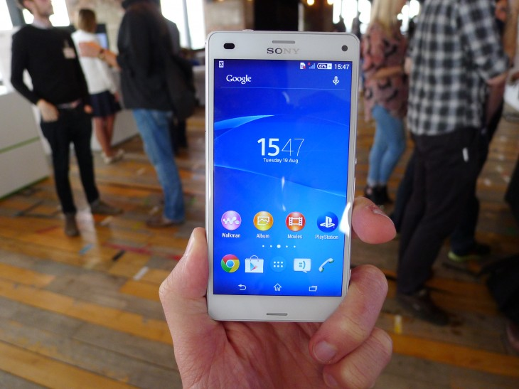 P1050949 730x547 Sonys Xperia Z3 Compact is a smaller Android smartphone with top tier specs