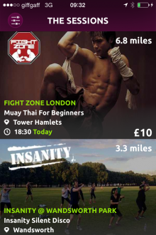 Photo 25 08 2014 09 32 20 220x330 Bored of the gym? This iPhone app gives Londoners a curated choice of quirky fitness classes