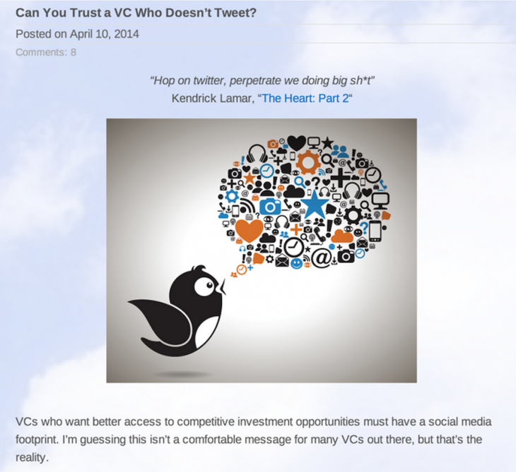 Screen Shot 2014 08 08 at 12.33.36 AM 730x669 How top VC firms use storytelling to connect with entrepreneur communities