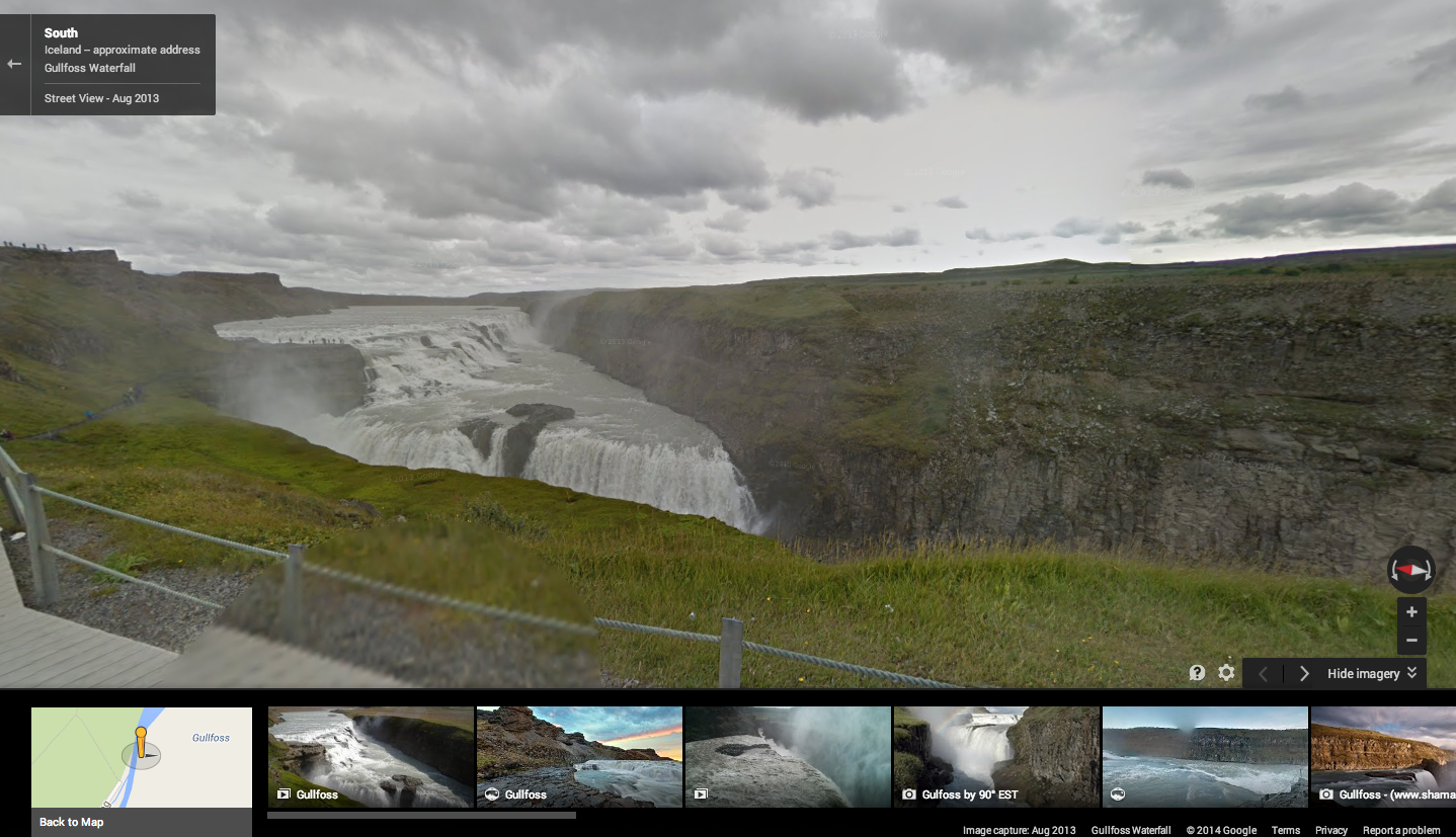 Screen Shot 2014 08 18 at 8.59.32 AM Google adds some of Icelands breathtaking waterfalls and geysers to Street View